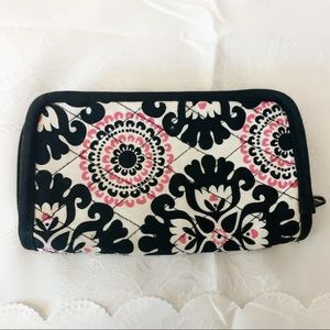 THIRTY -ONE PINK, BLACK AND WHITE WALLET